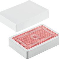 Baralho de Cartas com Caixa Branca