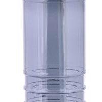 Garrafa em plastico de 750ml com palhinha