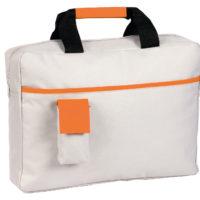 Pasta porta documentos com pega e bolsa para telemóvel