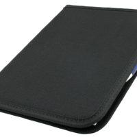 Portfolio A5 com bloco de notas com suporte p/caneta