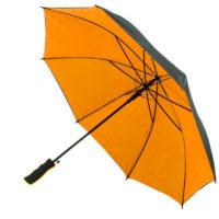 Chapéu de chuva bicolor automático com cabo EVA