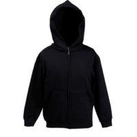 Hooded Sweat Jacket de Criança com Capuz 280g