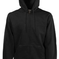 New Hooded Sweat Jacket com Capuz fecho inteiro 280g