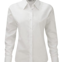 Camisa Easy Care Oxford manga comprida de Senhora