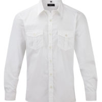 Camisa de Homem em Sarja c/ manga comprida