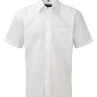 Camisa de Homem em Popelina clássica de m/curta