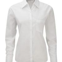 Camisa de Senhora em Popelina clássica de m/comprida