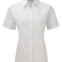 Camisa de Senhora em Popelina clássica de m/ curta
